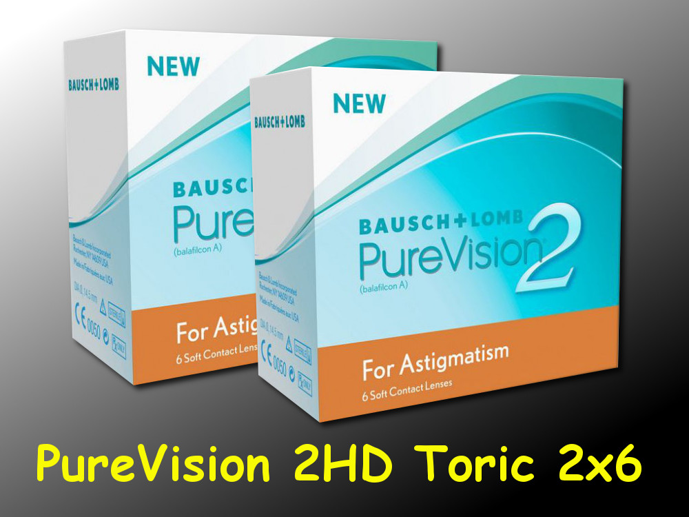 purevision 2hd for astigmatism toric 2 6 st ck neu ovp. Black Bedroom Furniture Sets. Home Design Ideas