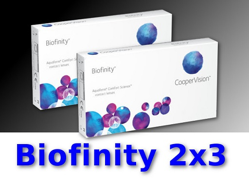 biofinity kontaktlinsen 2 3 monatslinsen neu ovp alle. Black Bedroom Furniture Sets. Home Design Ideas