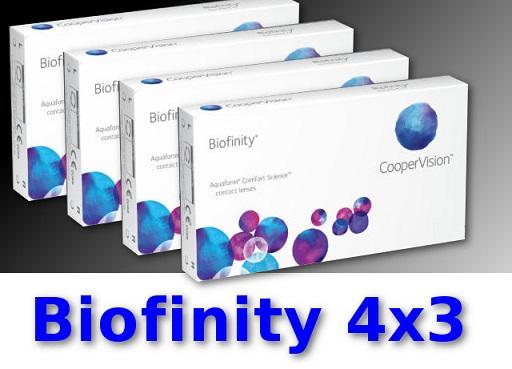 biofinity kontaktlinsen 4 3 monatslinsen neu ovp alle. Black Bedroom Furniture Sets. Home Design Ideas