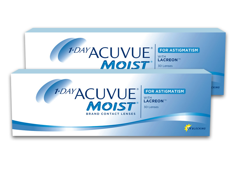 1 day acuvue moist for astigmatism toric 2x 30 neu ovp ebay. Black Bedroom Furniture Sets. Home Design Ideas