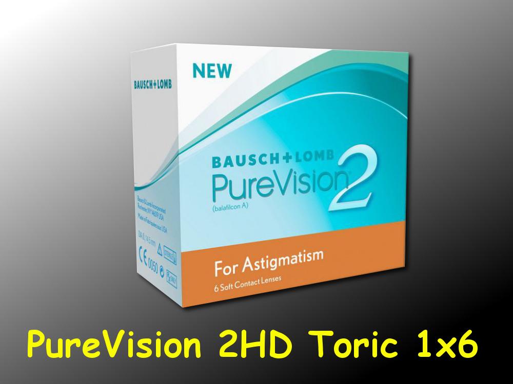 purevision 2hd for astigmatism toric 1 6 st ck neu ovp. Black Bedroom Furniture Sets. Home Design Ideas